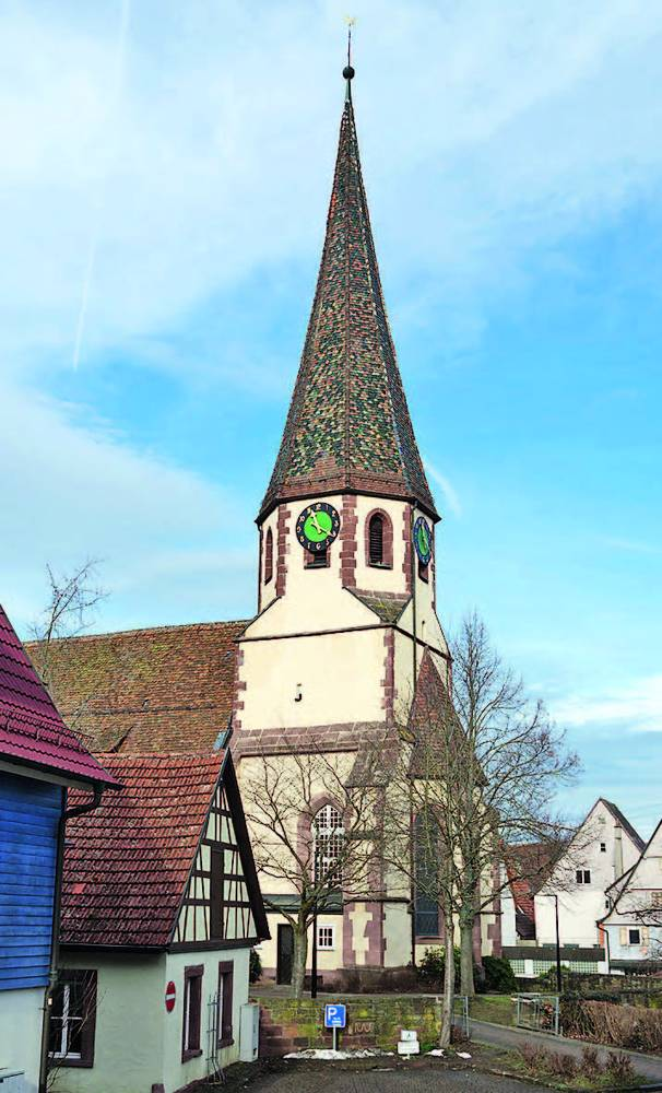 Maria-Martin-Markus-Kirche Althengstett
