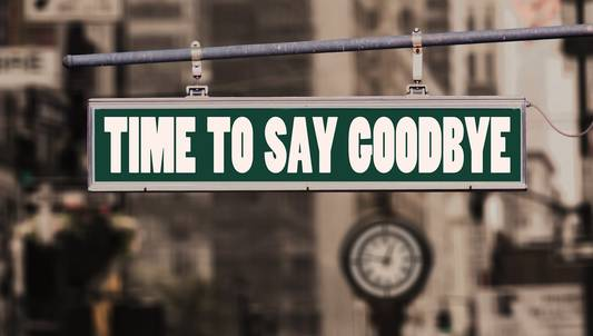 time to say goodbye. Abschied. Foto: Gerd Altmann / pixabay